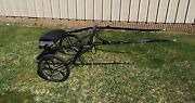 Antique Jerald Show Sulky Racing Roadster Cart Buggy Horse Pony
