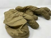 Primaloft Insulated Outdoor Research Or Military Mittens Gloves Coyote Brown Med