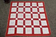 Large Old Bible Quilt- From New Jersey