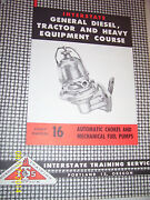 Vintage Interstate Service Book -auto Chokes And Fuel Pumps
