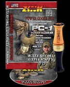 Zink Pc-1 Custom Hunter Goose Call And Instructional Dvd Combo New