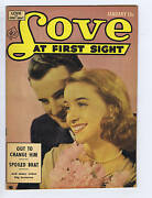Love At First Sight 19 Ace Pub 1953 Canadian Edition