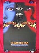 The Silence Of The Lambs 1991 Original Movie Poster Two Face Advance Halloween