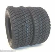 Two 23x10.50-12 P332 Turf Master Style 23x1050-12 4 Pr Lawn Mower Tractor Tires