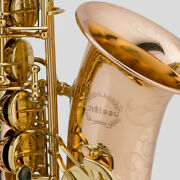 Chateau Alto Saxophone Lacquer Finished Body Professional Handmade Cas-90l
