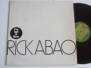 Rick Abao Iand039ve Got It Now Rare Different Sleeve Hand-signed Autopgraph Autogramm