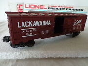Lionel O And 027 Gauge Freight Carrier Lackawanna Box Car D.l.andw. 9411