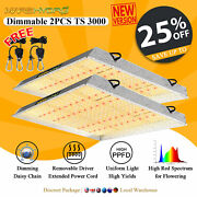 2pcs Dimmable Mars Hydro Ts 3000w Led Grow Light For Indoor Plants Veg Bloom