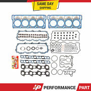 Head Gasket Set W/ 20mm Dowels For 03-10 Ford 6.0 E350 F250 F350 Diesel Turbo