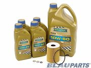 Motor Oil Change Kit - Compatible With 2006-10 Bmw M5 - 5.0l - 10w60 E60
