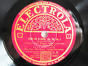 4x 78rpm Elly Ney Trio - Ludwig Hoelscher - Beethoven Geistertrio - Rare Set