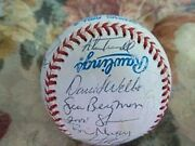 1995 Detroit Tigers Team Signed American League Baseball W/ Sparky Anderson