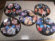 An Evening With Elvis- Set Of 5 - 12 Collector Plates