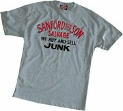 Adult Menand039s Sitcom Comedy Sanford And Son And039buy And Sell Junkand039 Grey T-shirt Tee
