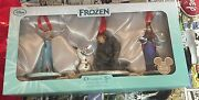 D23 Expo 2015 Le Frozen Ornament Set With Anna Elsa Olaf And Kirstoff 700 Made
