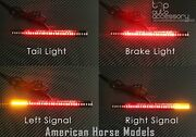 33 Led Bar Brake Tail Light And Left/right Turn Signal Lamp For American Ironhorse
