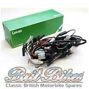 Genuine Lucas Main Wiring Harness As Fitted To Bsa A7 A10 1948-1956 - 19-0657