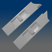 Set Of 2 White Recessed Window Sash Tilt Latches 1-left And 1-right 7380rb