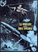 Invaders From Space Starman Super Giant Orignal Movie Poster Ishii Italian