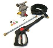 Pressure Washer Pump And Spray Kit For Many Makes W/ Honda Gc160 Engine 7/8 Shaft
