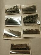 7 Black And White B And O Railroad Train Pictures From 1973