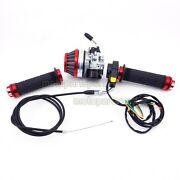Carburetor Throttle Grips Air Filter Cable Switch 50 60cc 80cc Motorized Bicycle