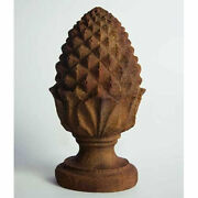 Rustic Pinecone Outdoor Garden Statue Art Finial By Orlandi Statuary Fs00197