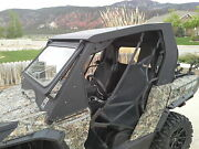 Can Am Commander Cab Enclosure With Tip Out Windshield