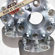 4pc Usa Made 6x5.5 To 6.5.5 Wheel Adapter 3 Spacer 14x1.5 Studs