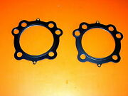91-07 Fits Harley 1200 Sportster 3 5/8 Big Bore Mls Head Gaskets .030 Thickness