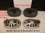 Restoration And Recone Service For Original 1953-70and039s Corvette And Chevrolet Speaker