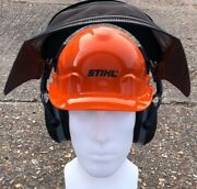 Stihl Function Basic Chainsaw Helmet With Ear Defenders And Visor P/n 00008880803