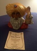 Royal Doulton Snake Charmer Large Character Jug D6912 Pristine Condition