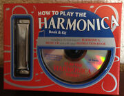 New How To Play The Harmonica Book And Kit W Harmonica Music Cd Instruction Book