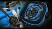 Sevenfriday New Industrial Essence Blue Steel Pvd Box Papers Sold Out P1-04