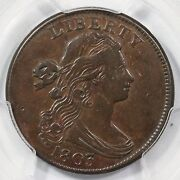 1803 S-256 R-3 Pcgs Xf 40 Sm Date Sm Frac Draped Bust Large Cent Coin 1c