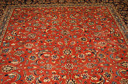 C1950s Antique Detailed Keshan Rug 8.3x12 Dont Miss One Time Deal_save