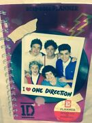 One Direction Spiral Planner August 2013-august 2014 Magenta Metallic Cover 1d