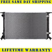 Radiator For 2009-2017 Audi A4 A4 Quattro A5 Q5 A6 Volkswagen Cc Free Shipping