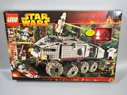 Lego 7261 Star Wars Clone Turbo Tank New And Sealed [2005 Edition]
