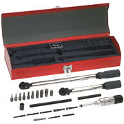 Klein Tools 57060 Master Electricianand039s Torque Tools Kit 25-piece