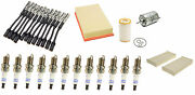 For Mercedes W210 E320 00-02 Tune Up Kit With Spark Plugs Andwire Set And 4 Filters