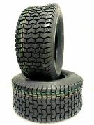 Two 16x6.50-8 Turf Lawn Tractor Mower Heavy Duty 4 Ply Two New Tires 16 650 8