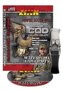 Zink Cod Gunsmoke Poly Goose Call And Instructional Dvd Combo New