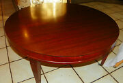 Mahogany Mid Century Formica Top Coffee Table By Mersman Ct114