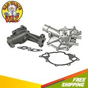 Water Oil Pump Fits 88-90 Ford Grand Marquis Lincoln Town Car 5.0l V8 Ohv 16v