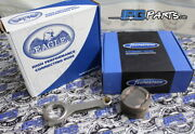 Supertech Pistons Eagle Rods For 1999-2000 Honda Civic Si B16 81.5mm 11.01 Comp