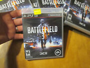 Battlefield 3 Ps3 Playstation 3 Sony Black Label New Factory Sealed Read
