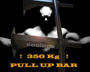 Ultra Strong Pull Up Bar Wall Mounted Chinning Station Best Price