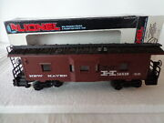 Lionel O 0/27 New Haven Bay Window Caboose With Lighted Interior Nh 16510